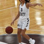 Miranda Vega. The Trinity women's basketball team extended its record to 4-1 with a 79-62 victory over Sul Ross State on Friday at Trinity. - photo by Joe Alexander