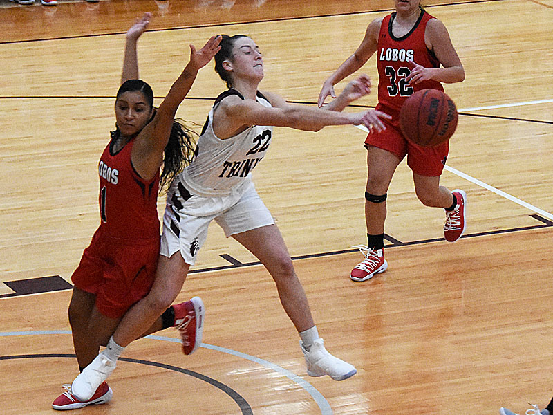 Annie Wise. The Trinity women's basketball team extended its record to 4-1 with a 79-62 victory over Sul Ross State on Friday, Nov. 23, 2018, at Trinity.