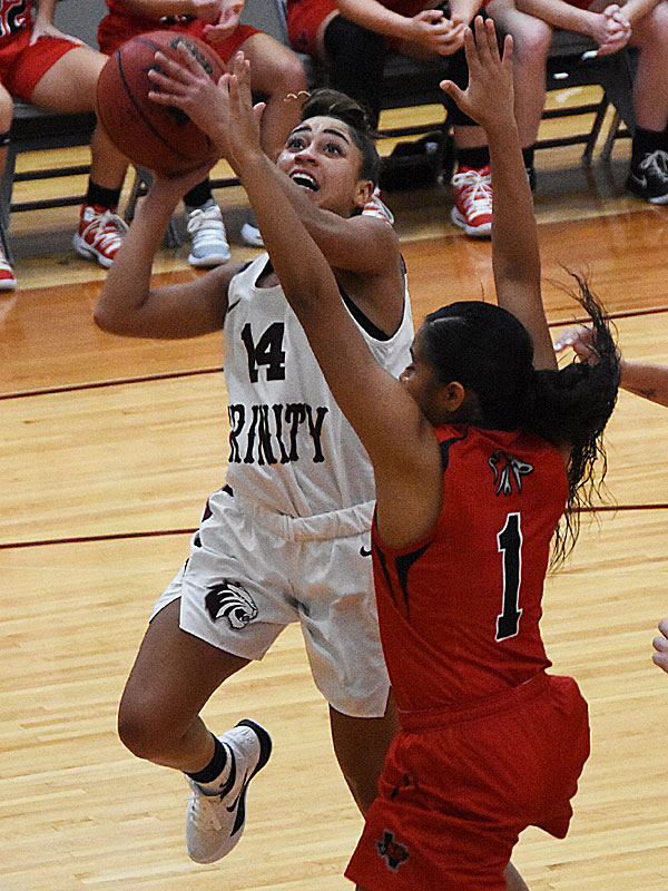 Sam Henry. The Trinity women's basketball team extended its record to 4-1 with a 79-62 victory over Sul Ross State on Friday at Trinity. - photo by Joe Alexander