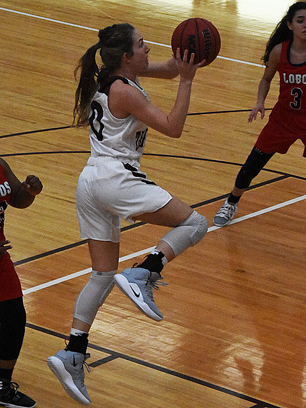 Emily Daniel. The Trinity women's basketball team extended its record to 4-1 with a 79-62 victory over Sul Ross State on Friday at Trinity. - photo by Joe Alexander