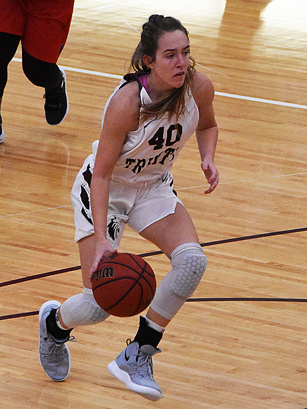 The Trinity women's basketball team extended its record to  4-1 with a 79-62 victory over Sul Ross State on Friday at Trinity.