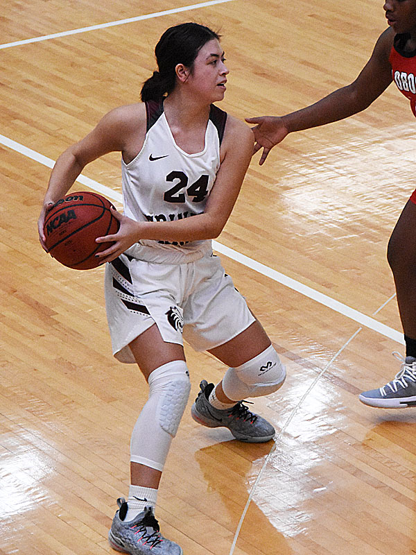 Rachel Chavez. The Trinity women's basketball team extended its record to 4-1 with a 79-62 victory over Sul Ross State on Friday at Trinity. - photo by Joe Alexander