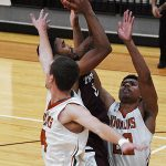 Isaiah Specks. UT-Dallas beat the Trinity men's basketball team 78-64 on Sunday, Nov. 25, 2018 at Trinity.
