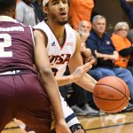 UTSA guard Jhivvan Jackson scored 22 points in his first home game of the season. The Roadrunners lost to Texas State 69-68 on Saturday, Dec. 1, 2018 at the UTSA Convocation Center.