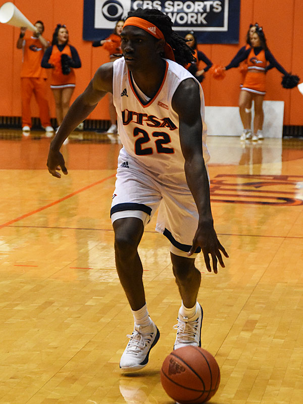 UTSA sophomore guard Kaeton Wallace. - photo by Joe Alexander