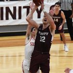 Danny Rivara. Sul Ross State beat Trinity 82-72 on Monday, Dec. 31, 2018 at Trinity. - photo by Joe Alexander