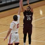 Tyler Peavy. Sul Ross State beat Trinity 82-72 on Monday, Dec. 31, 2018 at Trinity. - photo by Joe Alexander