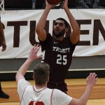 Tyler Peavy. Sul Ross State beat Trinity 82-72 on Monday, Dec. 31, 2018 at Trinity. - photo by Joe Alexander