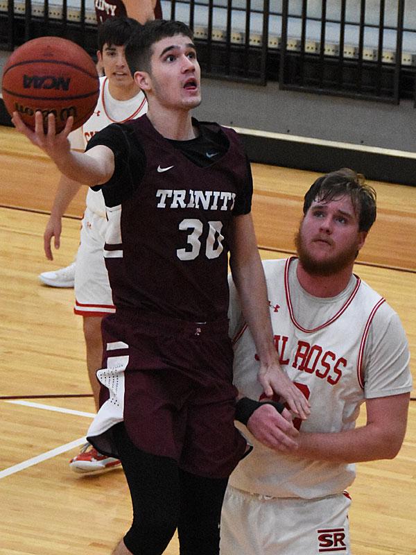 Kobe Patterson. Sul Ross State beat Trinity 82-72 on Monday, Dec. 31, 2018 at Trinity. - photo by Joe Alexander