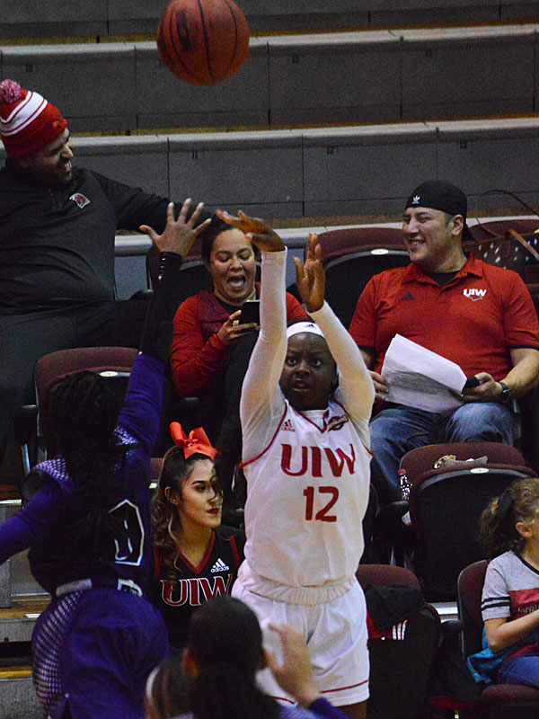 The Weber State women's basketball team beat Incarnate Word 72-64 on Wednesday, Nov. 21, 2018, at the UIW McDermott Center. Angelica Wiggins led UIW with 19 points.