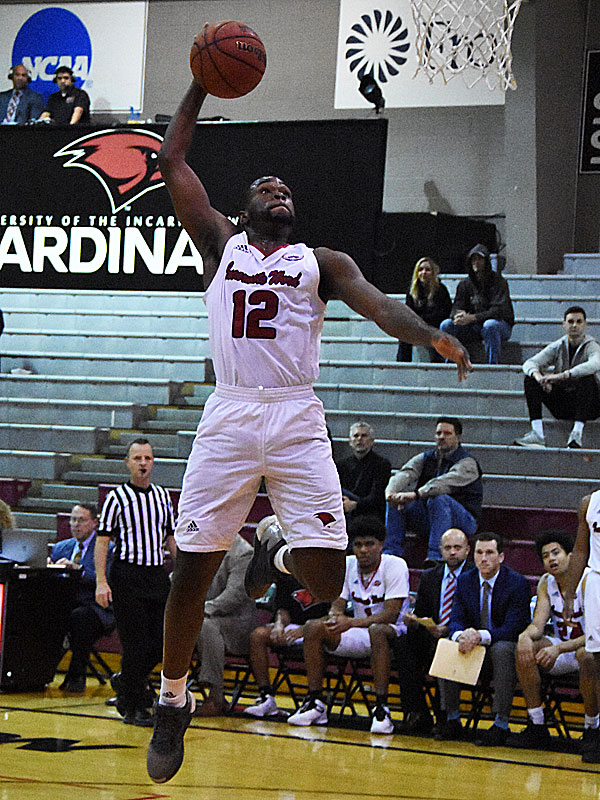 The Incarnate Word men's basketball team beat Trinity 82-57 on Tuesday, Dec. 4, 2018, at the UIW McDermott Center.