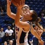 Timea Toth. The Utah State women's basketball team beat UTSA 62-56 on Wednesday, Dec. 5, 2018, at the UTSA Convocation Center. - photo by Joe Alexander