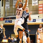 Barbara Benson. The Utah State women's basketball team beat UTSA 62-56 on Wednesday, Dec. 5, 2018, at the UTSA Convocation Center. - photo by Joe Alexander