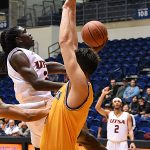 `UTSA beat Southeastern Oklahoma State 70-67 on Saturday, Dec. 29, 2018, at the UTSA Convocation Center. - photo by Joe Alexander