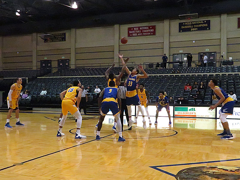 The St. Mary's men's basketball team made 26-of-30 free throws on the way to beating Texas A&M-Kingsville 65-52 on Wednesday, Dec. 19, 2018. at Greehy Arena.