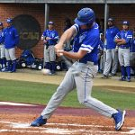 The Our Lady of the Lake University baseball team played on the road Tuesday night against crosstown rival Trinity.