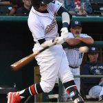 Mauricio Dubon. The Sounds beat the Missions 7-3 Friday night at Wolff Stadium. - photo by Joe Alexander