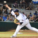 Aaron Wilkerson. The Sounds beat the Missions 7-3 Friday night at Wolff Stadium. - photo by Joe Alexander