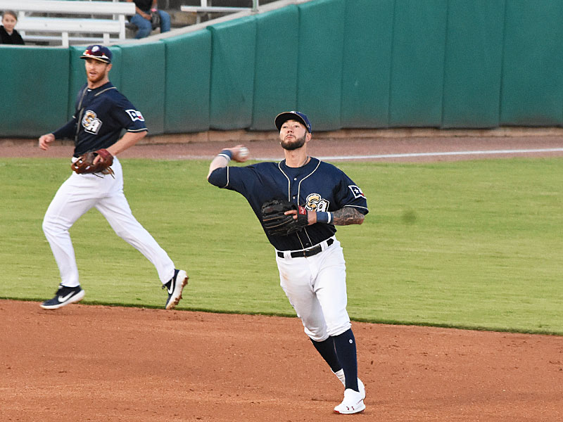 Lucas Erceg. The Missions beat the Sounds 5-3 Saturday at Wolff Stadium. - photo by Joe Alexander