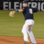 Keston Hiura. The Missions beat the Sounds 5-3 Saturday at Wolff Stadium. - photo by Joe Alexander