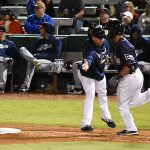 Tyler Saladino. The Missions beat the Sounds 5-3 Saturday at Wolff Stadium. - photo by Joe Alexander