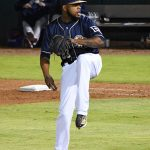 Jeremy Jeffress. The Missions beat the Sounds 5-3 Saturday at Wolff Stadium. - photo by Joe Alexander