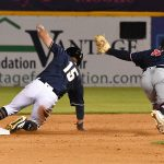 Tyrone Taylor. The Missions beat the Sounds 5-3 Saturday at Wolff Stadium. - photo by Joe Alexander