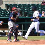 Corey Ray. The Missions beat the Sounds 5-4 Sunday at Wolff Stadium. - photo by Joe Alexander