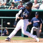 Corey Ray. The Sounds beat the Missions 10-5 Monday at Wolff Stadium. - photo by Joe Alexander