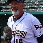 Missions manager Rick Sweet at media day on Tuesday at Wolff Stadium. - photo by Joe Alexander