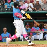 Mauricio Dubon batted second and played shortstop. The Memphis Redbirds beat the Flying Chanclas de San Antonio 6-3 Thursday at Wolff Stadium. - photo by Joe Alexander