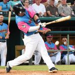 Keston Hiura batted third and played second base. The Memphis Redbirds beat the Flying Chanclas de San Antonio 6-3 Thursday at Wolff Stadium. - photo by Joe Alexander