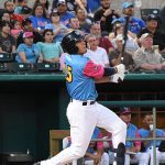 Tyrone Taylor batted fourth and played right field. The Memphis Redbirds beat the Flying Chanclas de San Antonio 6-3 Thursday at Wolff Stadium. - photo by Joe Alexander