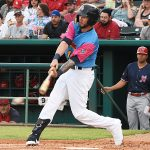 Lucas Erceg batted fifth and played third base. The Memphis Redbirds beat the Flying Chanclas de San Antonio 6-3 Thursday at Wolff Stadium. - photo by Joe Alexander