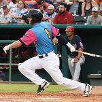 Cory Spangenberg batted seventh and played first base. The Memphis Redbirds beat the Flying Chanclas de San Antonio 6-3 Thursday at Wolff Stadium. - photo by Joe Alexander