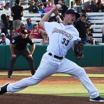 Zack Brown. The Missions beat the Oklahoma City Dodgers 4-3 Friday at Wolff Stadium. - photo by Joe Alexander