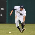 Tyrone Taylor. The Missions beat the Oklahoma City Dodgers 4-3 Friday at Wolff Stadium. - photo by Joe Alexander