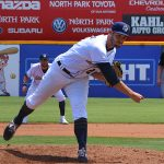 Thomas Jankins. The Missions lost to the Dodgers 4-1 Sunday at Wolff Stadium. - photo by Joe Alexander
