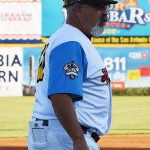 San Antonio Missions manager Rick Sweet during Saturday's game against the Oklahoma City Dodgers at Wolff Stadium. - photo by Joe Alexander`