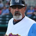 San Antonio Missions manager Rick Sweet during Saturday's game against the Oklahoma City Dodgers at Wolff Stadium. - photo by Joe Alexander