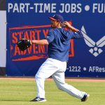 The San Antonio Missions practice at Wolff Stadium on Tuesday before hitting the road. - photo by Joe Alexander