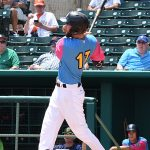 Lucas Erceg. The San Antonio Missions beat the Round Rock Express 10-9 Sunday at Wolff Stadium in the first game of a doubleheader. - photo by Joe Alexander