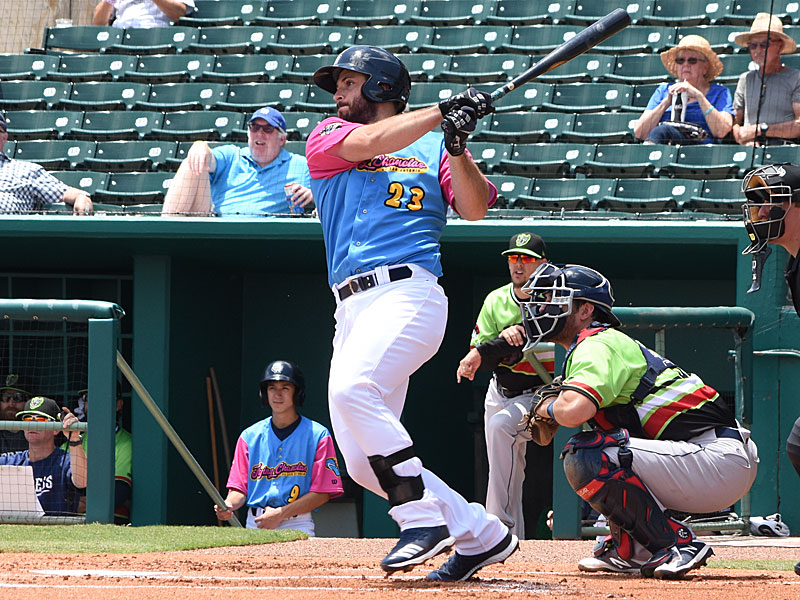 David Freitas. The San Antonio Missions beat the Round Rock Express 10-9 Sunday at Wolff Stadium in the first game of a doubleheader. - photo by Joe Alexander