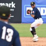 Mauricio Dubon. The Missions beat the Redbirds 9-3 Sunday at Wolff Stadium. - photo by Joe Alexander