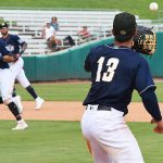 Tyler Saladino. The Missions beat the Redbirds 9-3 Sunday at Wolff Stadium. - photo by Joe Alexander