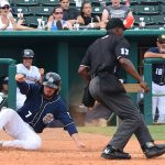Blake Allemand. The Missions beat the Redbirds 9-3 Sunday at Wolff Stadium. - photo by Joe Alexander