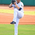 Corbin Burns started for the Missions and pitched two scoreless innings on Wednesday at Wolff Stadium. - photo by Joe Alexander