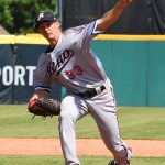 Former Reagan High School and Texas A&M pitcher Anthony Vasquez is now with the Reno Aces, the Triple-A farm club of the Arizona Diamondbacks. - photo by Joe Alexander