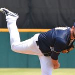 Missions starting pitcher Aaron Wilkerson went five innings and got the win on Sunday at Wolff Stadium. - photo by Joe Alexander