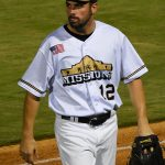 Michael O'Neill playing for the San Antonio Missions at Wolff Stadium. - photo by Joe Alexander